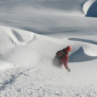 Glacier skiing on the classic Vallee Blanche