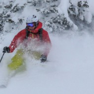 From now it's nothing but deep powder