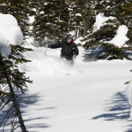 Kicking Horse off-piste skiing