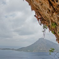 Gaspard on Aegealis in Grnde Grotta
