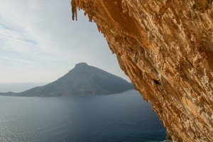Steep climbs from 7a in grande grotta