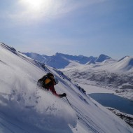 Skiing Lassofjaellet