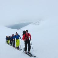Ski touring Lillegalten