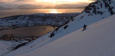Ski Touring Above The Arctic Circle