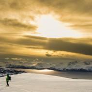 Evening ski