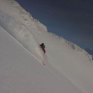 Snow boarding Lyngen
