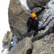 Goulotte climbing