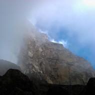 Big rocks and uncertain weather
