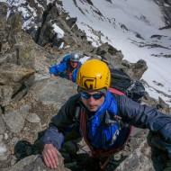 Mixed mountaineering terrain