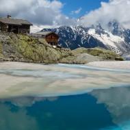 Early season at Lac Blanc