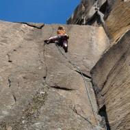 Bohuslan crack climbing