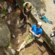 Great hang out at the crags