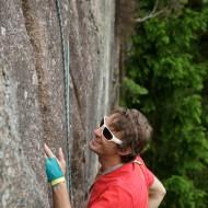 Trad climbing Bohuslän