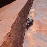 Indian Creek crack climbing