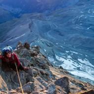 High up on the Hornli ridge