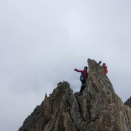 Summit of Aiguille d'Entreves