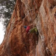 rock climbing Geyikbayiri late November