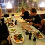 Visiting an amazing restaurant in Antalya