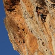 Rock climbing Geyikbayiri Turkey