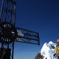 Italien summit of Matterhorn - Mt Cervino