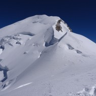 Mont Blanc from Dome de Gouter