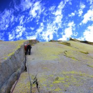 Airy Interlude (5.10a) - The Needles Climbing