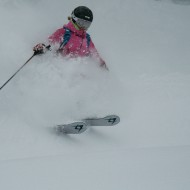 St Anton powder skiing