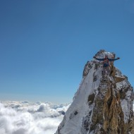 Carl-Henrik on the top of the world!