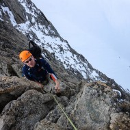 Exposure on the Traverse of Aig d'Entreves