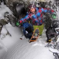 Lofoten snow boarding