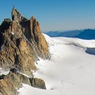 Aiguille du Midi south face