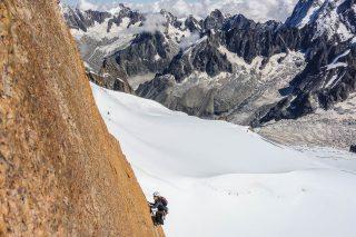 Aig du Midi South Face