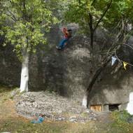 Deep in the Meteora backyard
