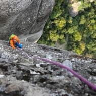 Meteora rock climbing