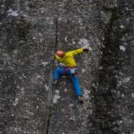 Climbing Egg Dance a Meteora classic