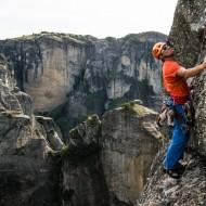 Meteora adventure climbing