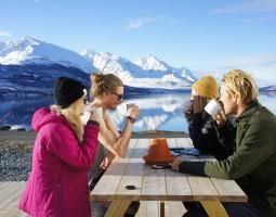 Ski Lodge Life In Lyngen