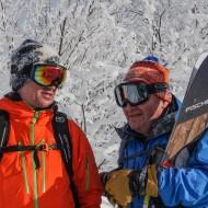 Japan powder skiing