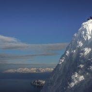 Bagging island summits - Lyngen ski and sail