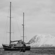 Ski and sail Lyngen - Our home for the week