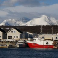 Our home - Lyngen ski lodge and harbour