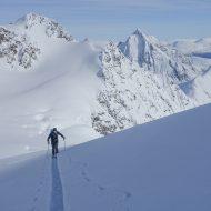 Lyngen ski mountaineering