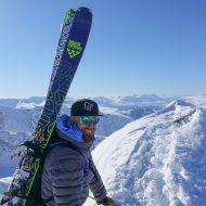 The extract of ridge climbing