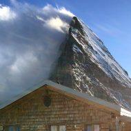 Mittelweg ridge from Mittellegi hut