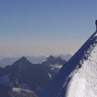 Summit ridge - Eiger