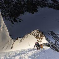 Monch east ridge