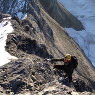 Mittellegi ridge - Eiger
