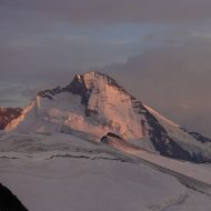 Looking over to Dent d'Herens
