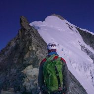 Normal route on Weisshorn